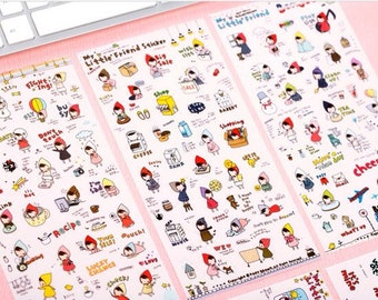 Stickers | My Little Friend | Pony Brown | 6 sheets