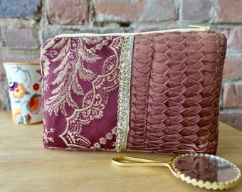 Small cosmetic bag, Small toiletry bag