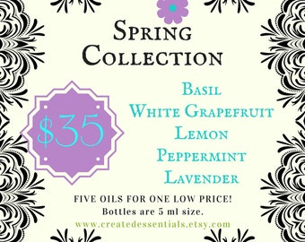 NEW Spring Essential Oils Collection!
