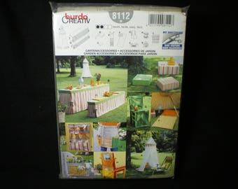 Burda creativ No. 8112 accessories garden pattern