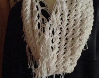 Crochet Pattern - Twisted Cable Infinity Cowl
