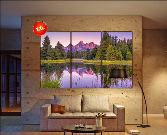 Grand Teton National Park  canvas Grand Teton wall decoration Grand Teton canvas art Grand Teton large canvas  wall decor