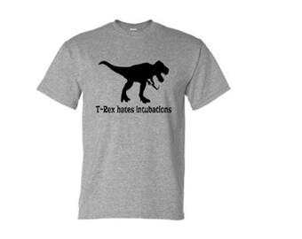 T-Rex hates intubations