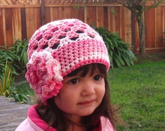 Cute Stuff Beanie - Crochet hat pattern PDF - Fun and easy to make - Instructions to make baby, toddler, kids - Instant Digital Download