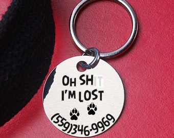 pet supplies, personalized pet tag, Custom Pet identification, Pet ID Tag, Dog Tag for Dogs, Charm Pet ID Tag, Dog Tag Custom two-sides,