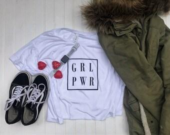 GRL PWR Boxy Tee