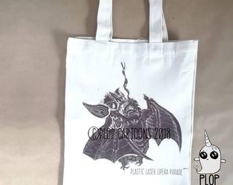 Vampire Bat Canvas Tote Bag