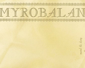Myrobalan Postcard