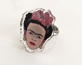 Frida Acrylic Ring