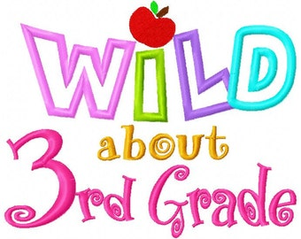 Image result for wild about third grade