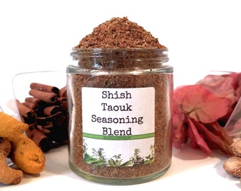 Shish Taouk/Shish Tawook/Kebab Rub/Seasoning Blends/Spice Rack/Gifts For Foodies/Foodie Gift/Seasonings Gifts/Cooking Gift/Chef Gift