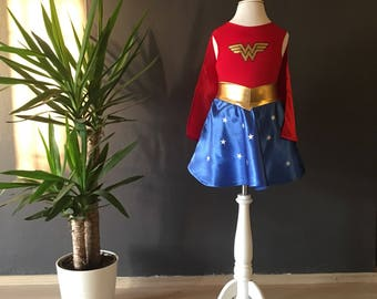 WONDER WOMAN FREESHIPPING costume dc comics costume