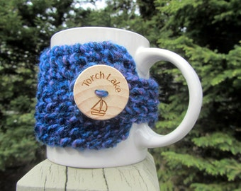 Torch Lake Coffee Cup Cozy, Torch Lake, Up North Michigan, Alden, Bellaire, Michigan, Cup Cozy