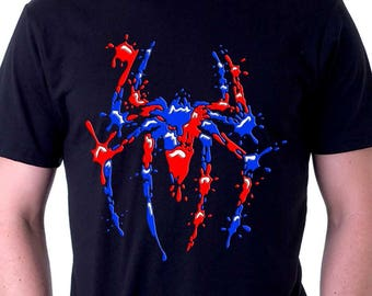 Spiderman shirt   Etsy on homemade ghost shirts, homemade ironman shirts, homemade crayola shirts, homemade halloween shirts, homemade soccer shirts, homemade pacman shirts, homemade jurassic park shirts, homemade peter pan shirts, homemade wwe shirts, homemade cat shirts, homemade birthday shirts, homemade hannah montana shirts, homemade sports shirts, homemade football shirts, homemade pi shirts, homemade thomas shirts, homemade tinkerbell shirts, homemade superhero shirts, homemade dinosaur shirts, homemade superman costume for a girl,