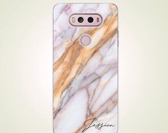 Custom Name Marble LG Case Personalized case G2 G3 G4 case G5 case G6 case Nexus 5 case Nexus 5X case V10 case V20 case