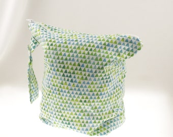 READY TO SHIP! Geometric Wet Bag