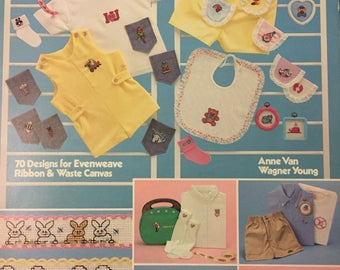 Leisure Arts Clothing Designs for Little People 70 Designs  Counted Cross Stitch  Leaflet 259
