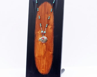 """Necklace Display, 18"""" x 7.25""""wide, Jewelry Display, Necklace Display Bust"""