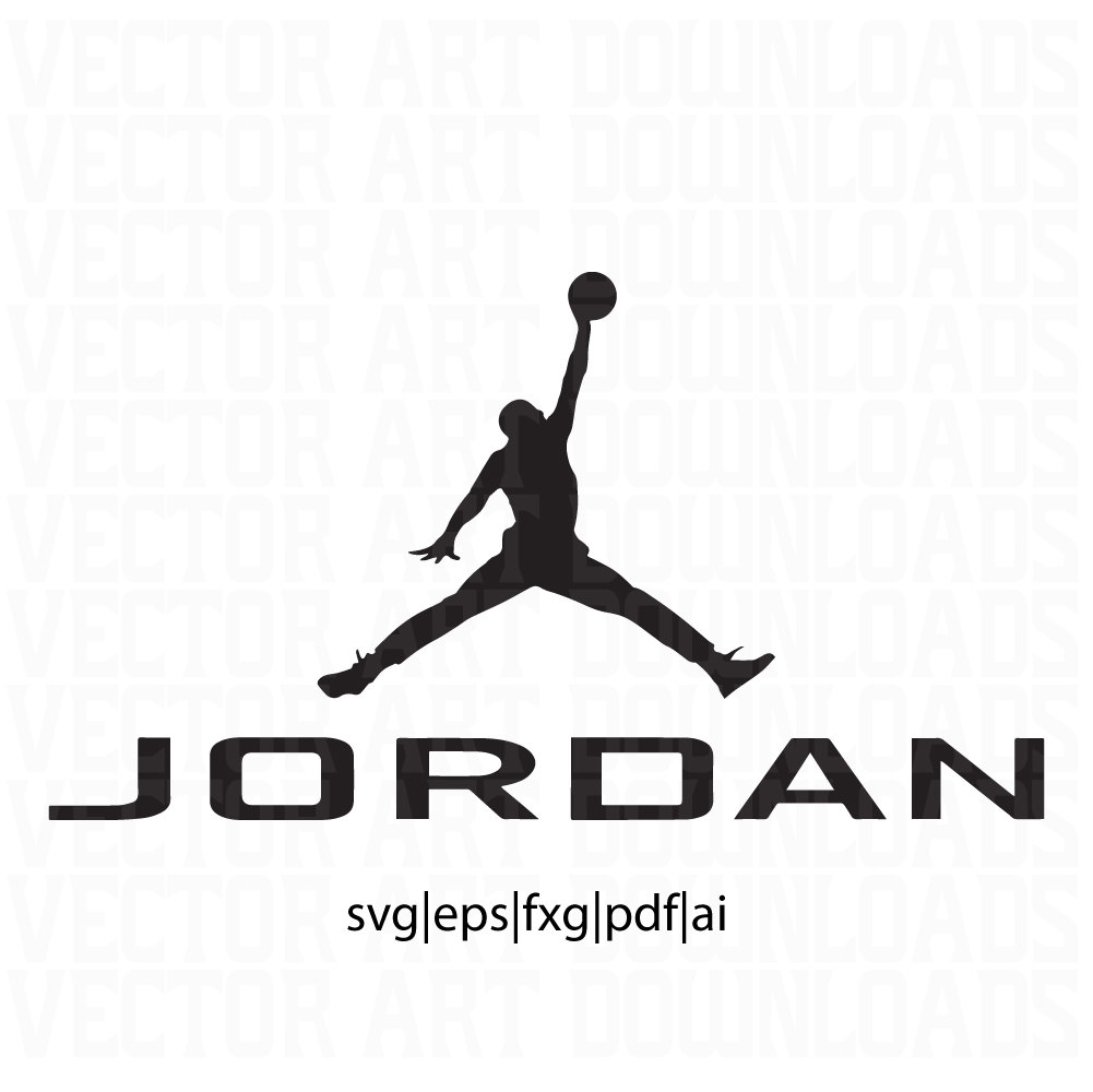 logo air jordan vector