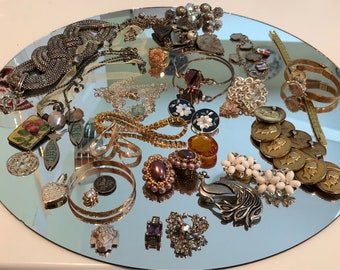 Lot of Vintage to Newer Jewelry ~ Treasure Trove