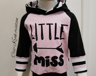 Hoodie evolutionary 9 m - 3 t little miss