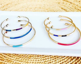 Multi-colored Bracelet Set / Bangle Set