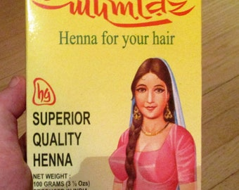 Red Henna for Hair