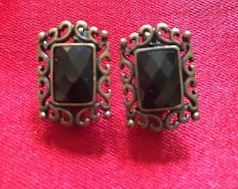 Vintage Clip-on Earrings by Premier Designs