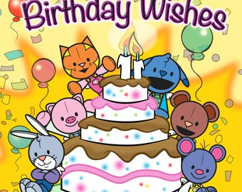 Birthday Wishes from The Magical Attic-Signed Birthday Greeting