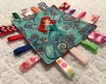 Little Mermaid Baby Sensory Crinkle Toy