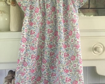 Liberty Lawn fabric Toddler dress 12-18mths