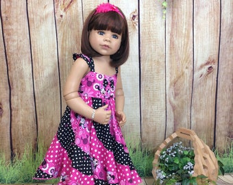 Swirly MINNIE MOUSE Pageant Twirl Dress, Custom Boutique... size 2