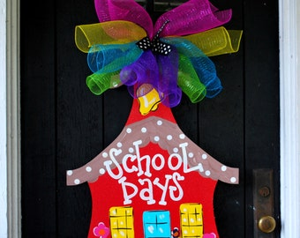 Door Hanger: Back to School, Door Decor, Classroom Decor
