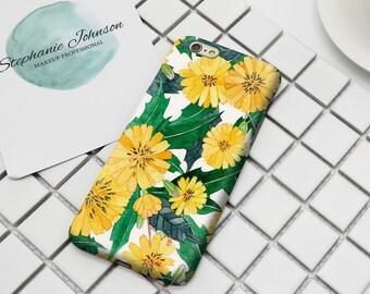 Dandelion flower 3D Print Phone Case for Iphone 6 6S 6/6S Plus 7 7 Plus phone Case/Samsung Galaxy S6 S6 edge S7 S7 dge Phone Shell Case