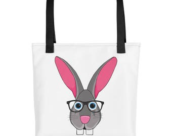 Flemish Giant Bunny Rabbit Purse Carry On Tote bag
