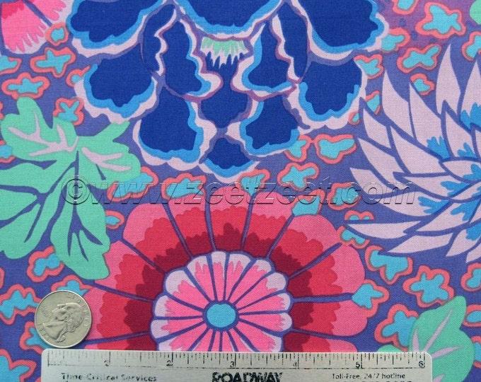 Kaffe Fassett DREAM Purple - Cotton Quilt Fabric by the Yard, Half Yar, or Fat Quarter Fq Pink Magenta Blue