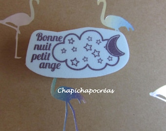 """Stamp cloud """"Good night Angel"""" baby shower, baby baptism Scrapbooking card making, Project life"""