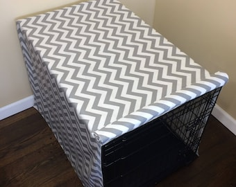 Chevron Crate Cover 36Lx24Wx26H