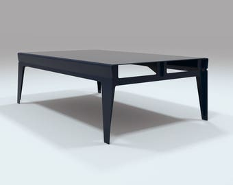 Havant Lounge Table - Dark Blue
