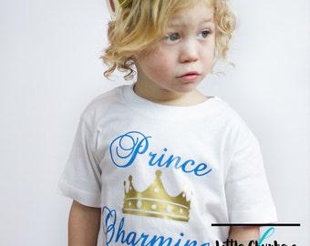 Prince charming shirt | Prince shirt | Prince t shirt | Cute boy shirt | Kids shirts | Boy coming home outfit | Boy clothes | Toddler shirts