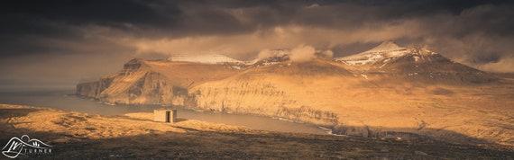 Slættaratindur from Eiðiskollur [Photographic Print]