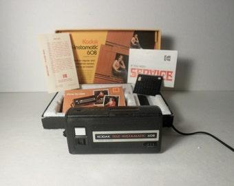 Kodak Vintage Tele-Instamatic 608