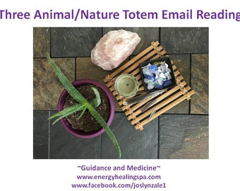 Three Animal or Nature Totems Email Message