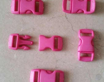 set of 5 tiny silicon clips that are curved for strap 30 x 14 mm