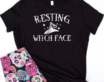 resting witch face shirt,resting witch face shirts,resting witch face tshirt,resting witch face tshirts,halloween shirt,funny halloween