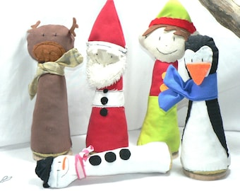 Christmas Bowling pins Gift idea Kids