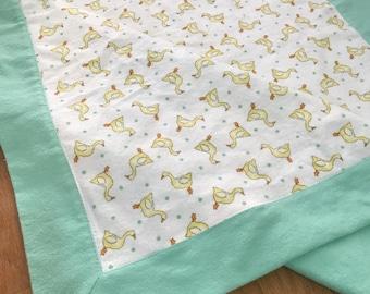 Duckies Receiving Blanket