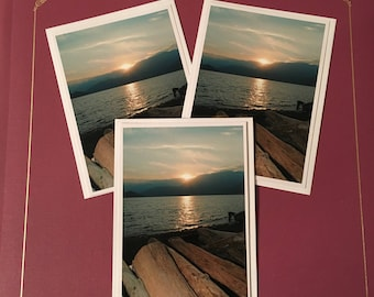 Porteau Cove Cards (3-pk blank greeting cards)