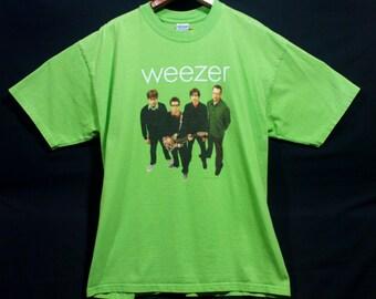 Weezer, Green Album, t-shirt, size XL, like new, hash pipe