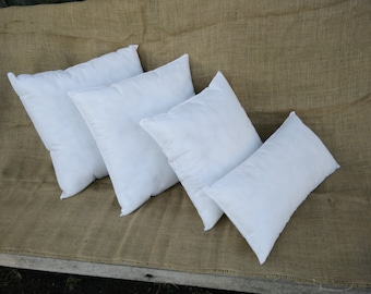 Outdoor or Indoor 18x18 inch pillow inserts
